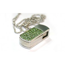Decor Flash 8GB ( зелёный кристал)